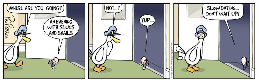 Ollie and Quentin Comic Strip for February 08, 2019
