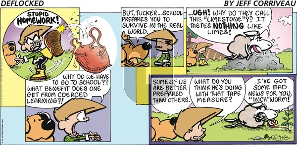 DeFlocked on Sunday March 10, 2019 Comic Strip