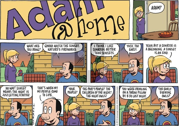 Adam@Home on Sunday September 15, 2013 Comic Strip