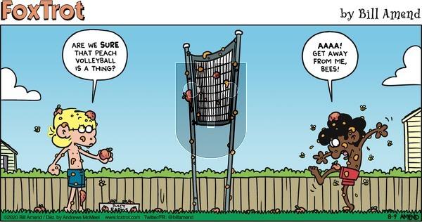 FoxTrot on Sunday August 9, 2020 Comic Strip