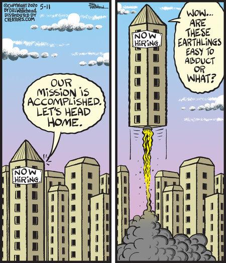 Free Range Comic Strip for May 11, 2020