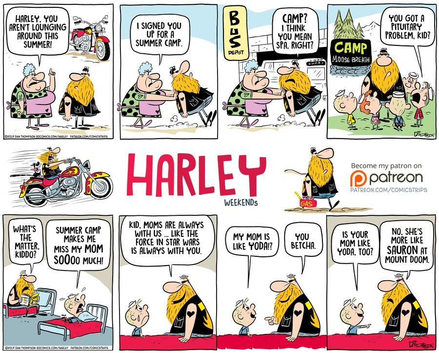 Harley for Dec 17, 2017 Comic Strip