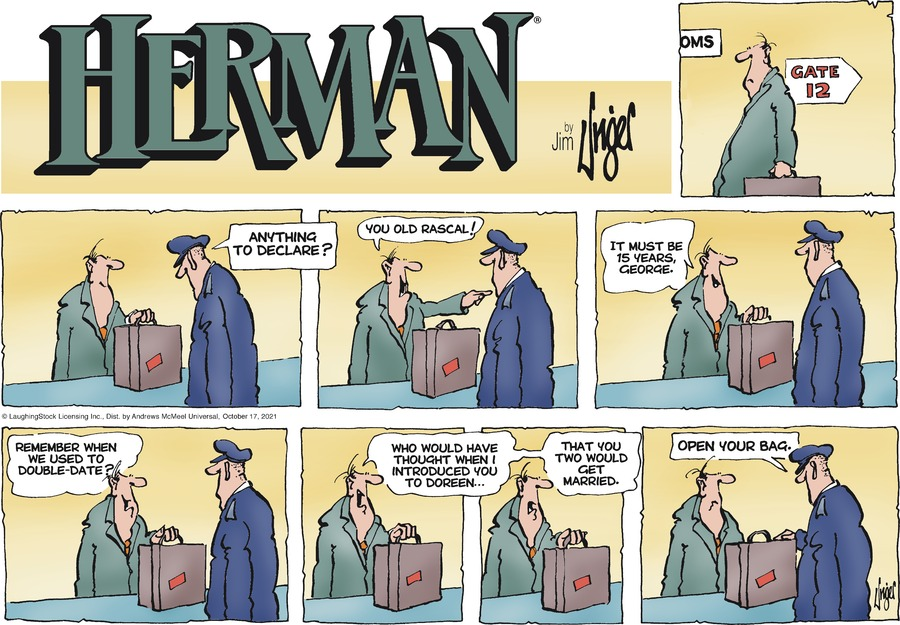 Herman by Jim Unger on Sun, 17 Oct 2021
