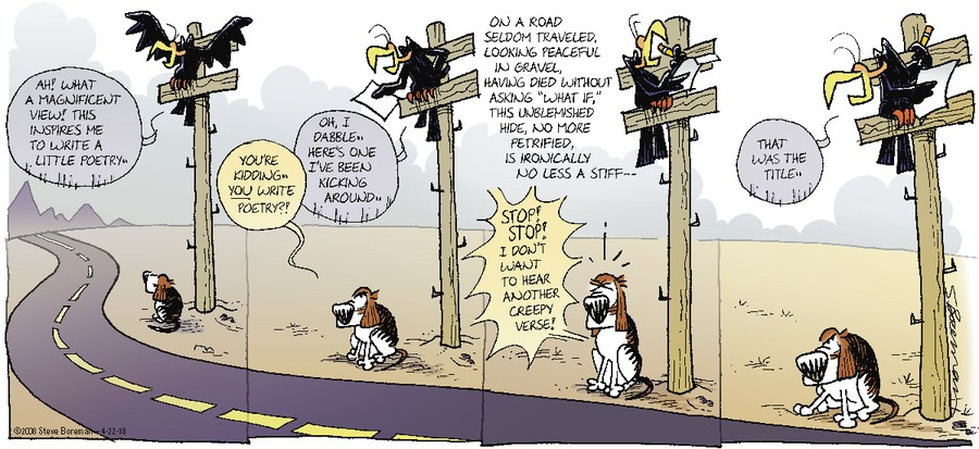 Little Dog Lost Comic Strip for April 22, 2018