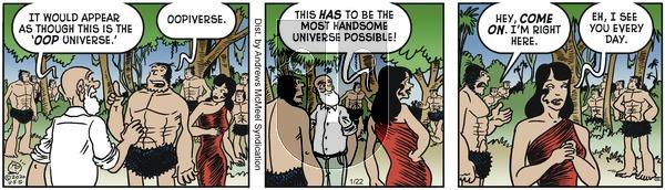 Alley Oop - Wednesday January 22, 2020 Comic Strip