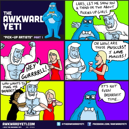 The Awkward Yeti for Oct 19, 2014 Comic Strip