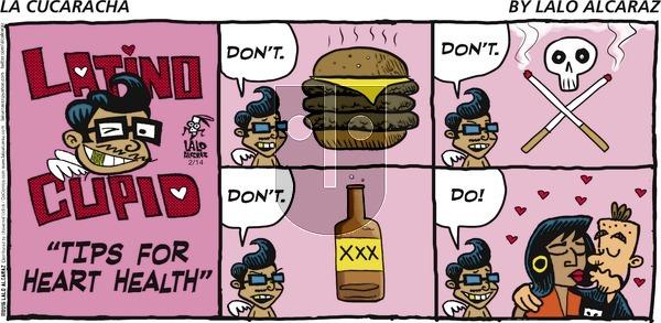 La Cucaracha on Sunday February 14, 2016 Comic Strip