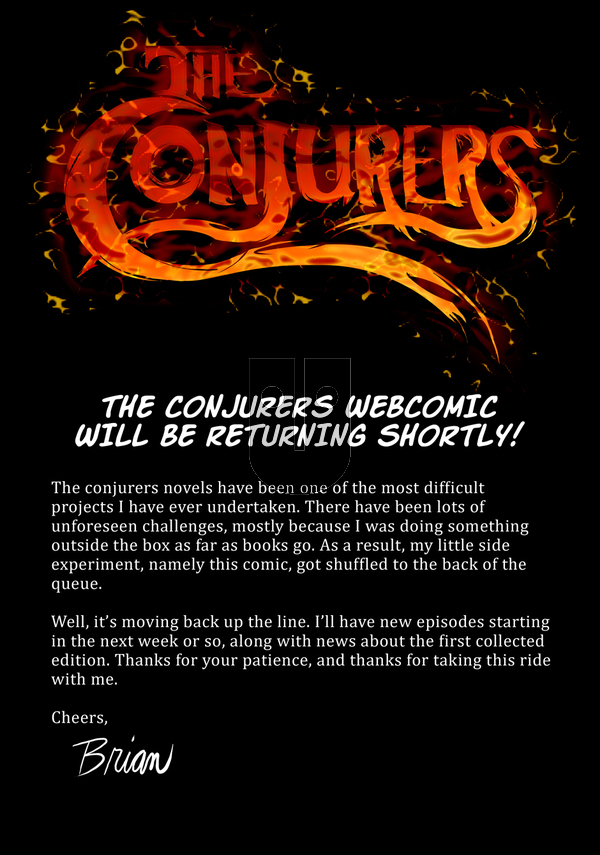 The Conjurers on Tuesday December 12, 2017 Comic Strip