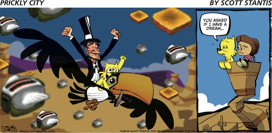 Prickly City Comic Strip for September 26, 2021