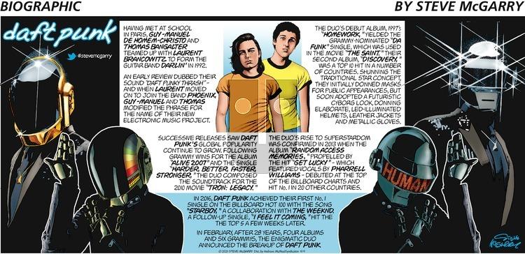 Biographic - Sunday April 4, 2021 Comic Strip