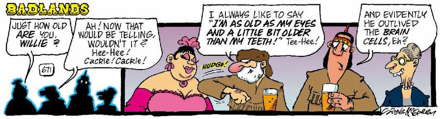 Badlands Comic Strip for January 22, 2021