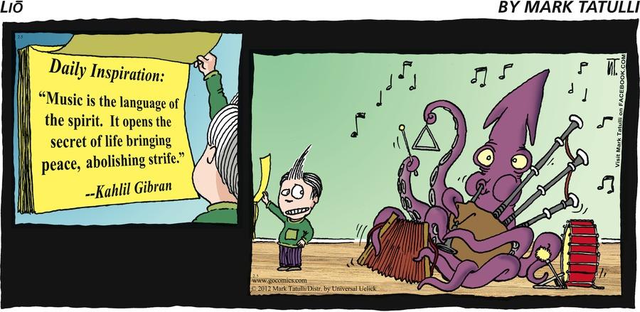 Lio Comic Strip for February 05, 2012
