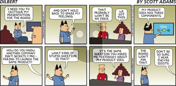 Dilbert on Sunday July 19, 2015 Comic Strip