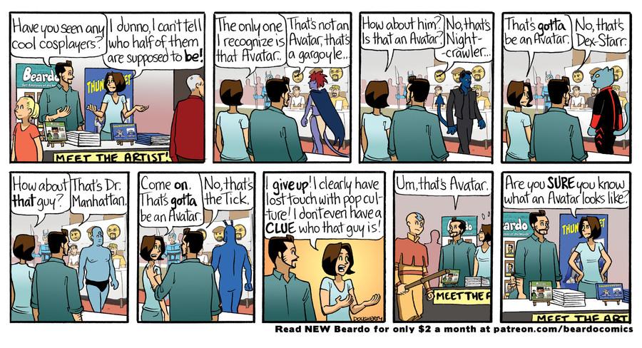 Beardo Comic Strip for September 16, 2021