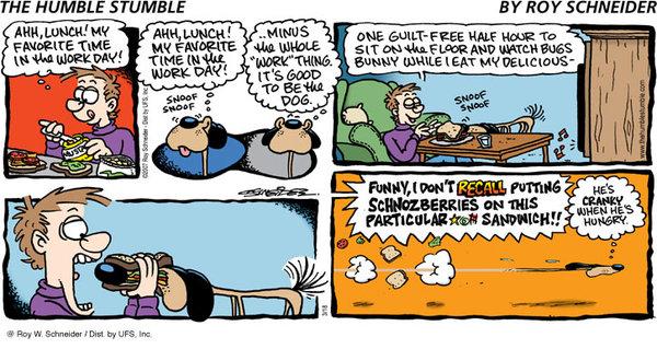 The Humble Stumble for Aug 18, 2013 Comic Strip
