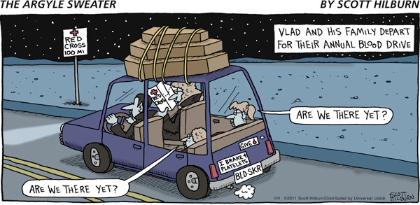 The Argyle Sweater for May 29, 2011 Comic Strip