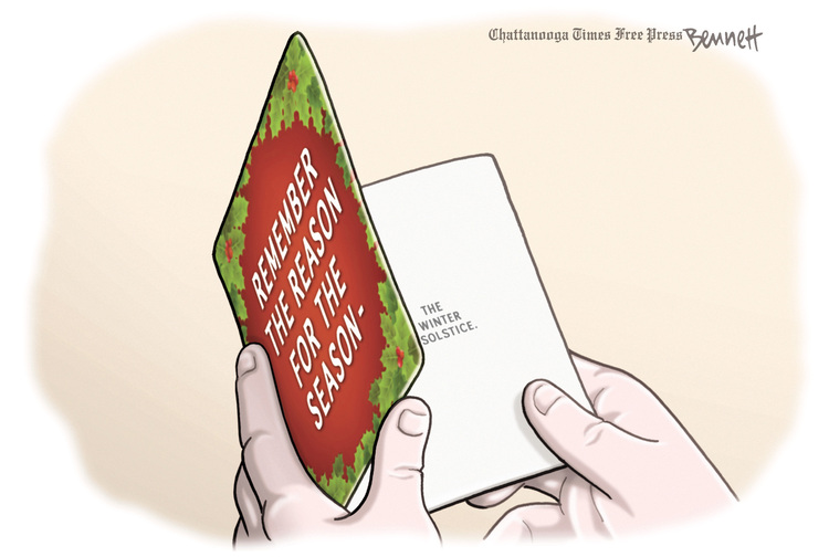 Clay Bennett Comic Strip for December 04, 2013