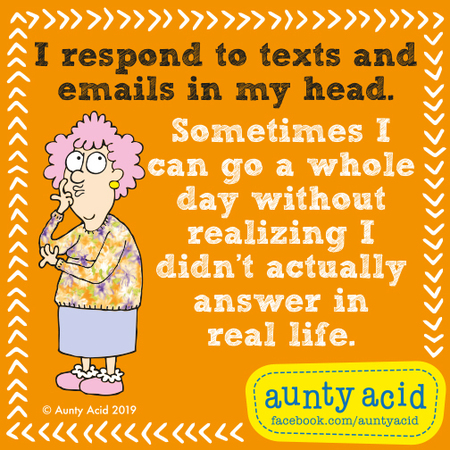 Aunty Acid by Ged Backland for May 04, 2019