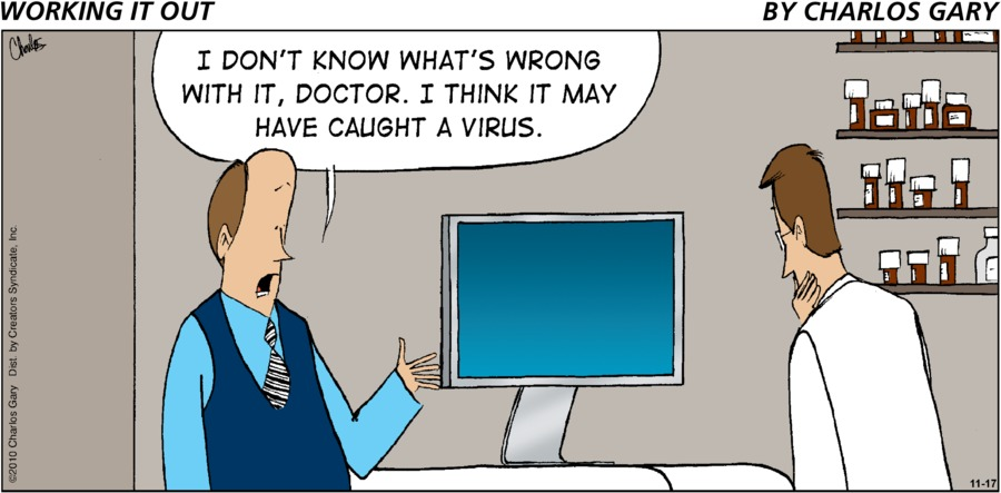 Working It Out Comic Strip for November 17, 2019