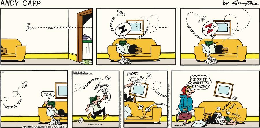 Andy Capp Comic Strip for September 07, 2014