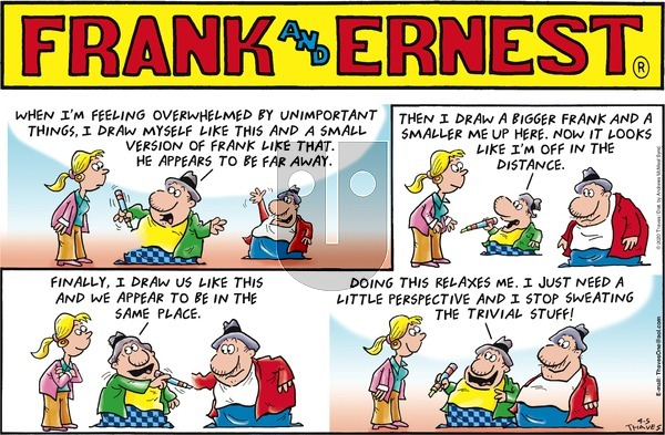 Frank and Ernest on Sunday April 5, 2020 Comic Strip