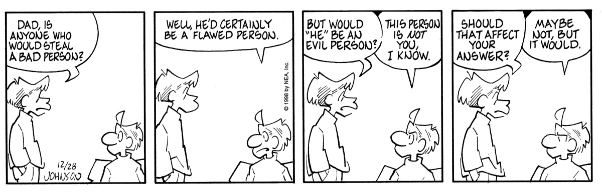 Arlo and Janis for Dec 28, 1998 Comic Strip
