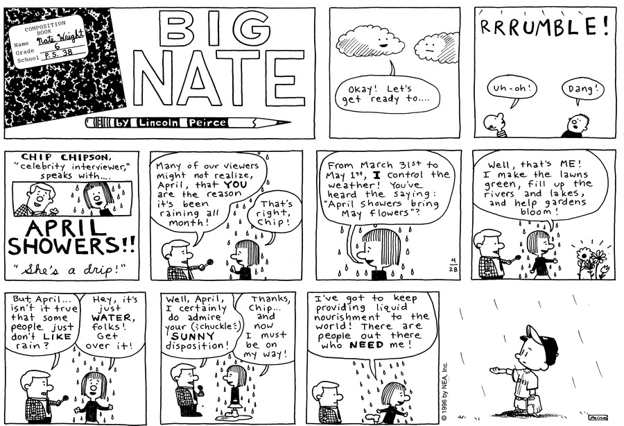 Big Nate: First Class by Lincoln Peirce on Sun, 09 May 2021