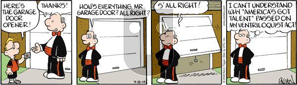 Drabble on Monday September 28, 2009 Comic Strip