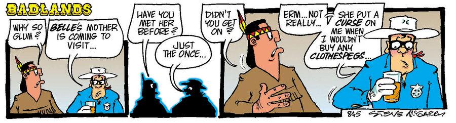 Badlands Comic Strip for June 02, 2021