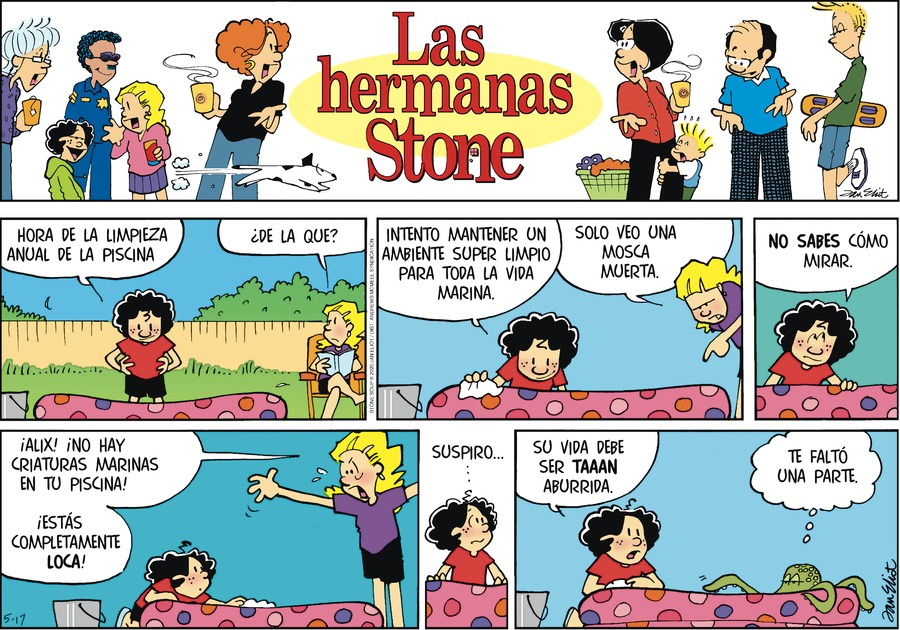 Las Hermanas Stone Comic Strip for May 17, 2020