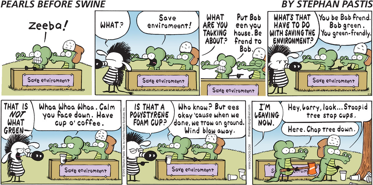 Pearls Before Swine Comic Strip for April 04, 2010