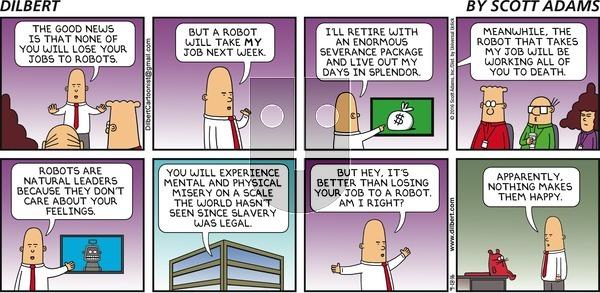 Dilbert - Sunday September 18, 2016 Comic Strip
