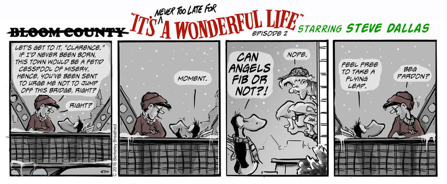 Bloom County 2019 Comic Strip for December 27, 2019