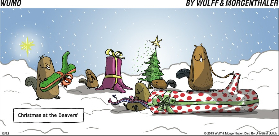 Christmas at the Beavers'