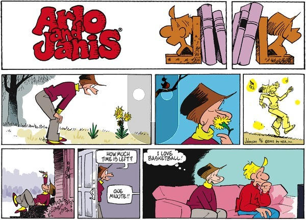 Arlo and Janis on Sunday March 31, 2002 Comic Strip
