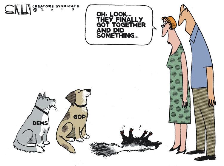 Steve Kelley Comic Strip for October 17, 2013