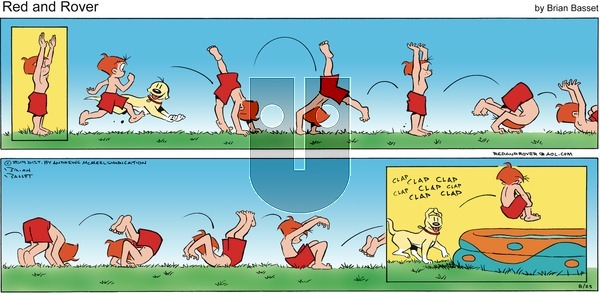 Red and Rover - Sunday August 25, 2019 Comic Strip