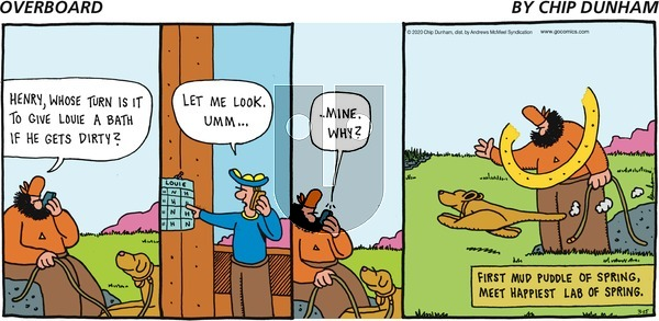 Overboard - Sunday March 15, 2020 Comic Strip