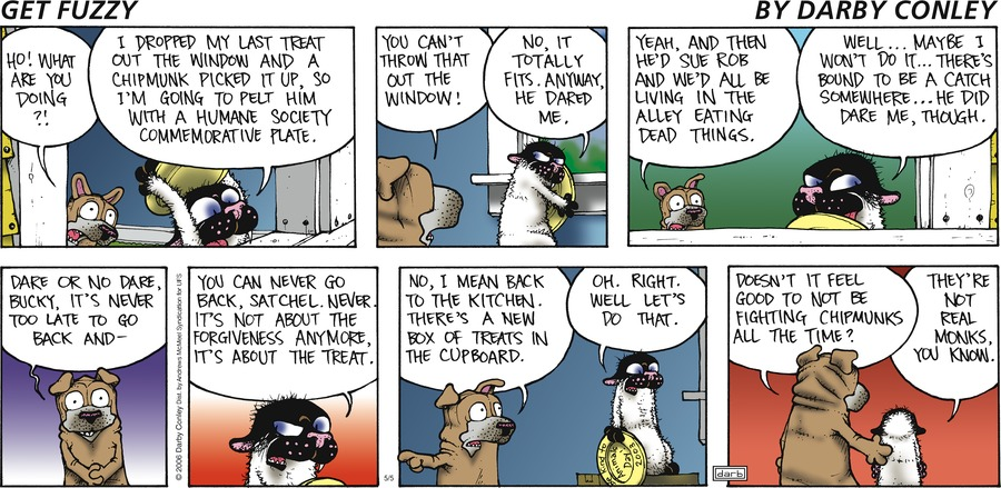 Get Fuzzy Comic Strip for May 05, 2019