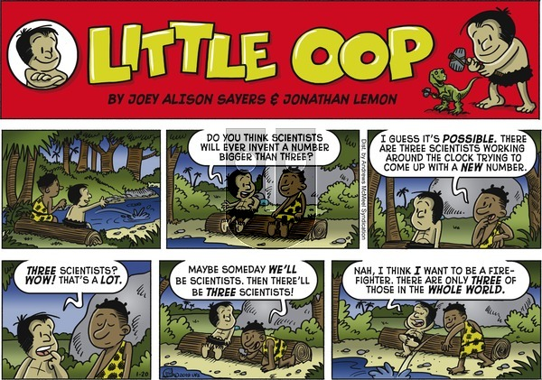 Alley Oop on Sunday January 20, 2019 Comic Strip