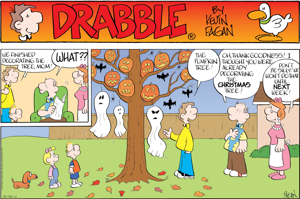 Drabble Comic Strip for October 30, 2011