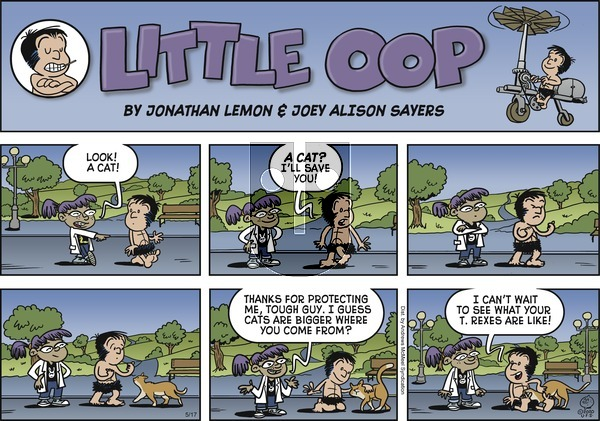 Alley Oop on Sunday May 17, 2020 Comic Strip