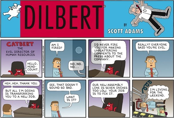 Dilbert - Sunday May 18, 2003 Comic Strip