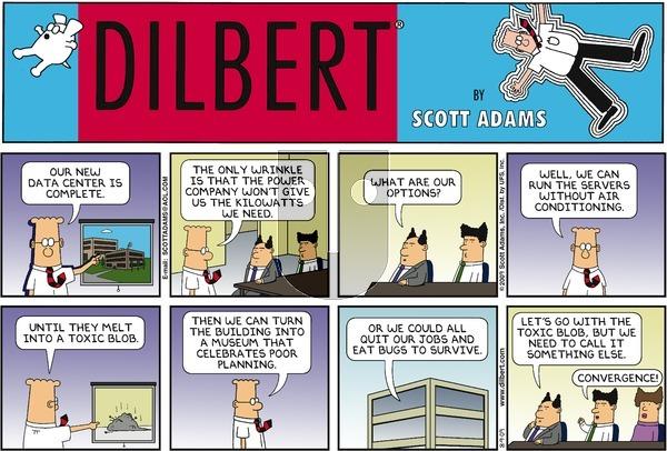 Dilbert - Sunday August 9, 2009 Comic Strip