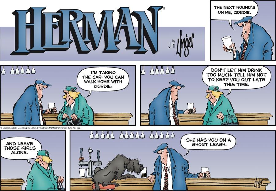 Herman Comic Strip for June 13, 2021