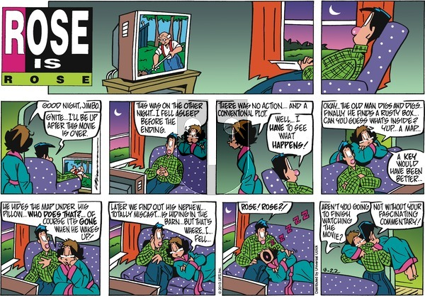 Rose is Rose on Sunday September 22, 2013 Comic Strip