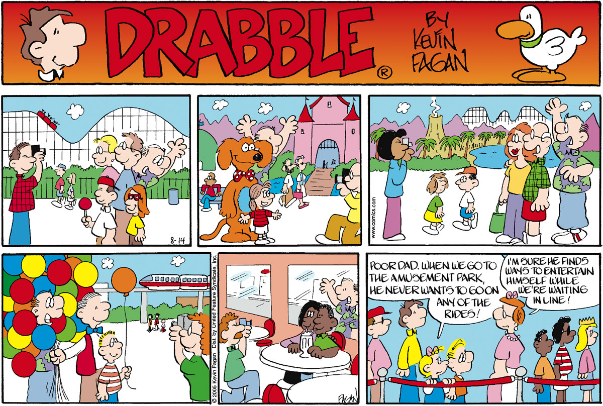 Drabble for August 14, 2005 Comic Strip