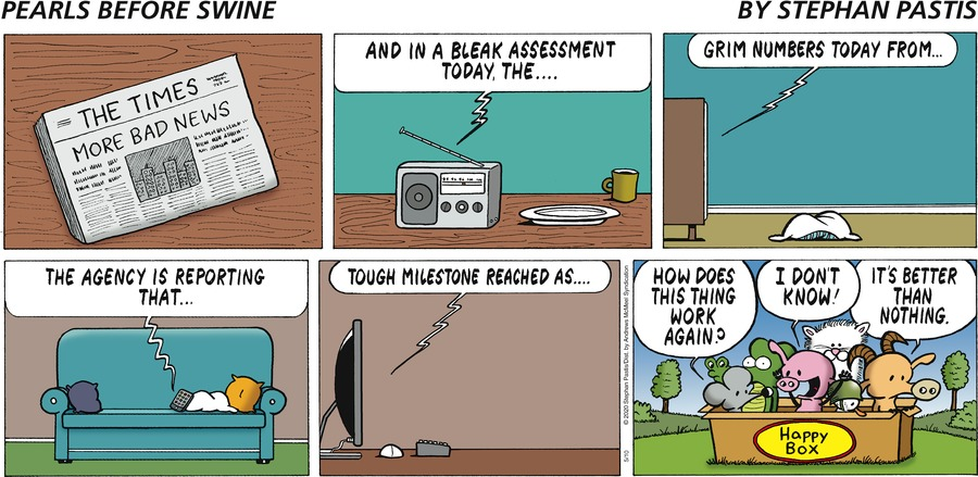 Pearls Before Swine Comic Strip for May 10, 2020