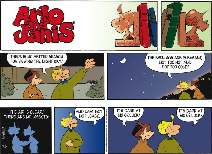 Arlo and Janis Comic Strip for November 08, 2020