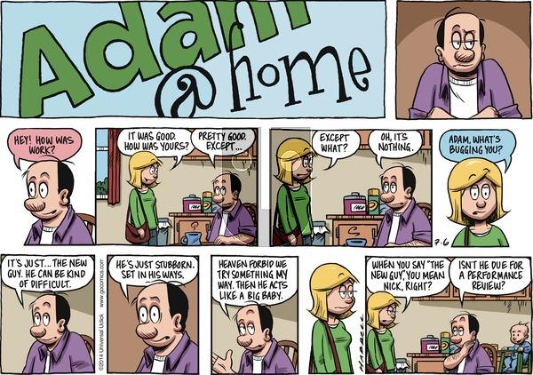 Adam@Home on Sunday July 6, 2014 Comic Strip